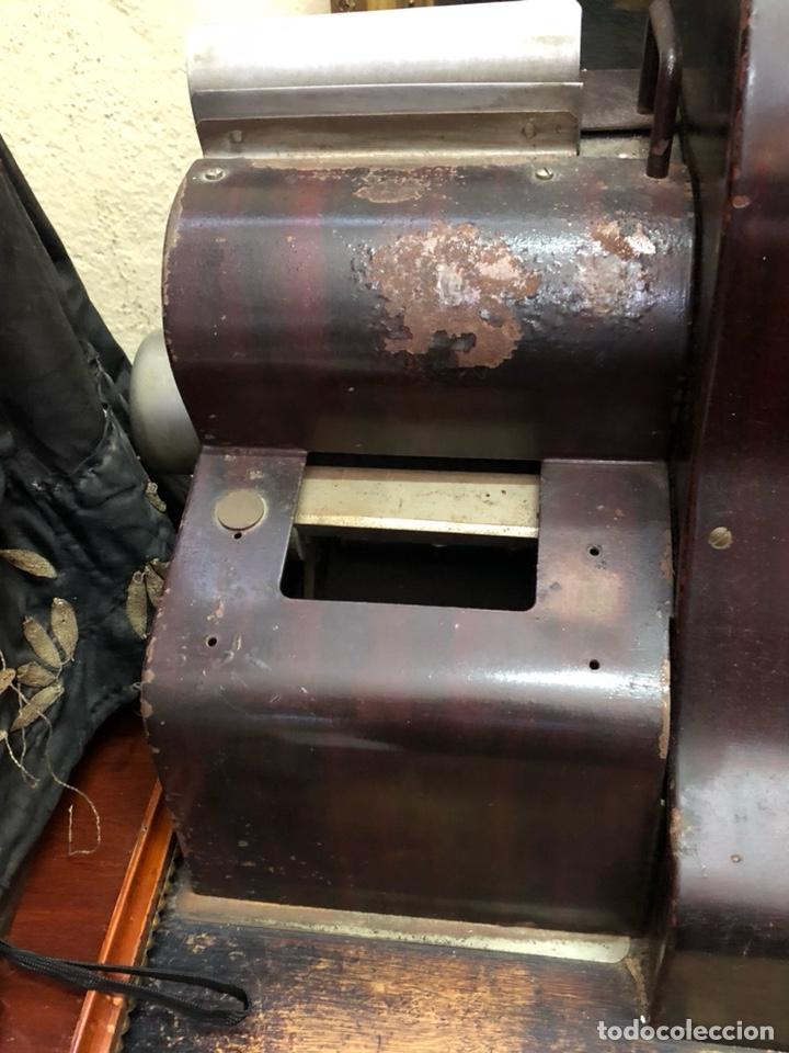Antigüedades: Caja registradora antigua ANKER, gran tamaño, sólo recogida - Foto 6 - 205183638