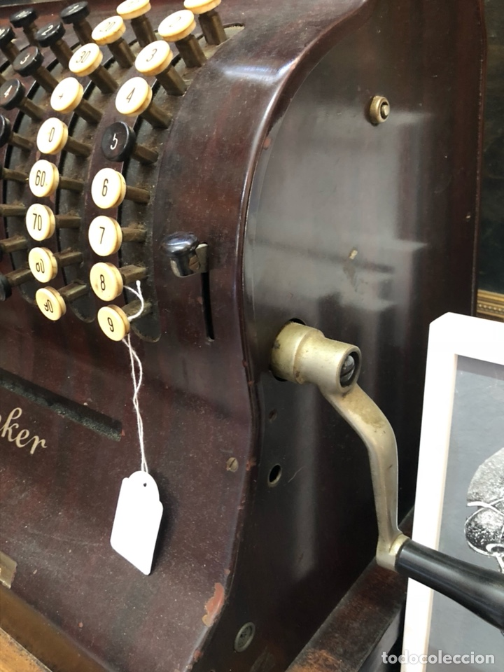 Antigüedades: Caja registradora antigua ANKER, gran tamaño, sólo recogida - Foto 7 - 205183638