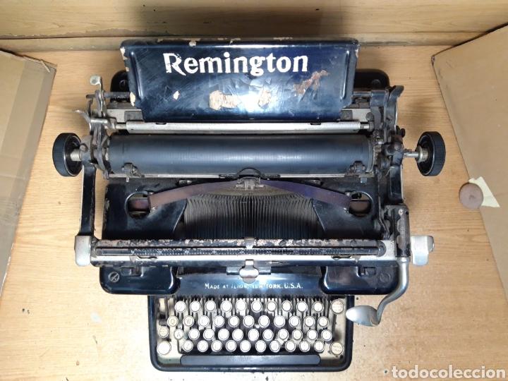 Antigüedades: Ántigua maquina de escribir Remingto 10S - Foto 3 - 205184595