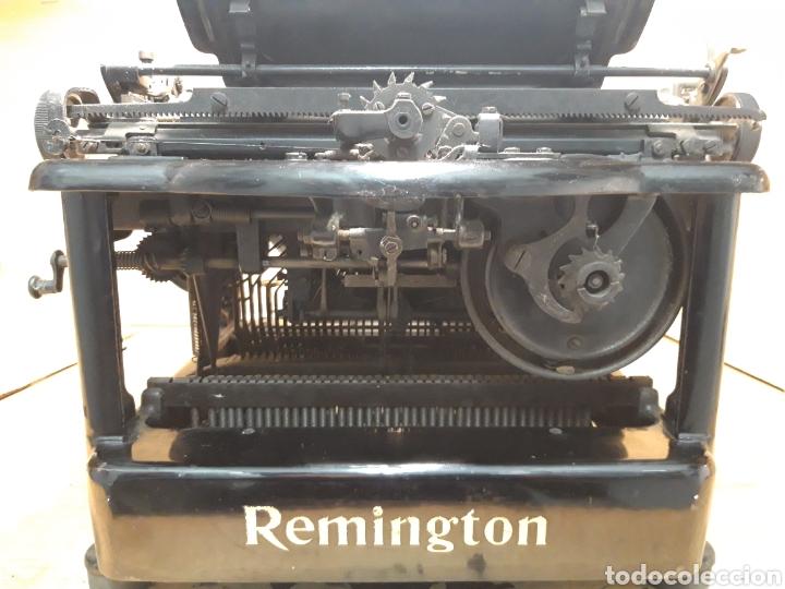 Antigüedades: Ántigua maquina de escribir Remingto 10S - Foto 4 - 205184595