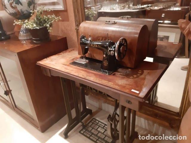 Antigüedades: Maquina de coser ALFA - Foto 4 - 205242550