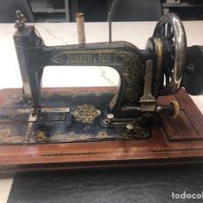 Antigüedades: MÁQUINA DE COSER ANTIGUA JUNKER&RUH. Lote 205255868