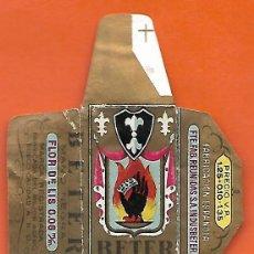 Antigüedades: ESPAÑA-FUNDA HOJA AFEITAR Y CUCHILLA MARCA BETER -LAMETTA DA BARBA,RAZOR BLADE,LAME DE RASOIR. Lote 205256500