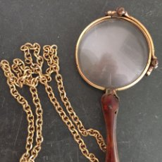 Antigüedades: ANTIGUO BINÓCULO IMPERTINENTE PLEGABLE. S.XIX. Lote 205257551