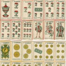 Antigüedades: ESPAÑA-LA BARAJA, COLECCIÓN COMPLETA DE 48 FUNDAS DE HOJAS DE AFEITAR Y CUCHILLAS-MARAVILLA-NUEVAS. Lote 205259345
