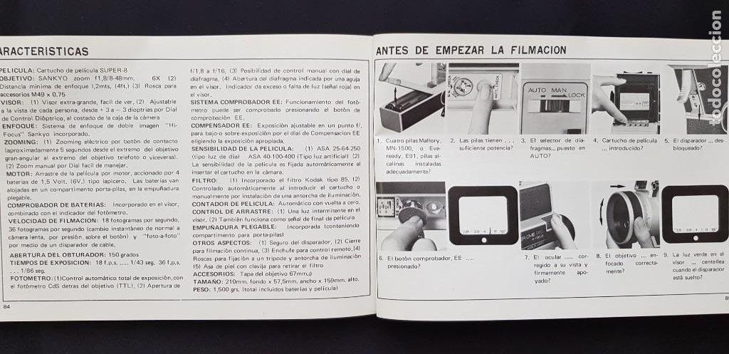 Antigüedades: Tomavistas Sankyo - Super CME 660 - Hi Focus (ver fotos) - Foto 8 - 205165595