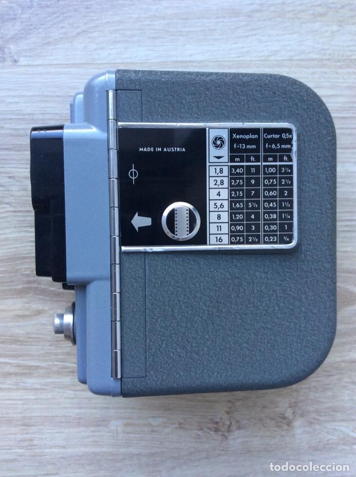 Antigüedades: Cámara Eumig Servomatic [Austria, 1959-61]. Doble8mm, motor eléctrico (pila de petaca) - Foto 2 - 205319061