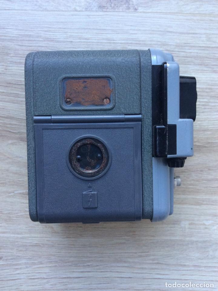 Antigüedades: Cámara Eumig Servomatic [Austria, 1959-61]. Doble8mm, motor eléctrico (pila de petaca) - Foto 4 - 205319061