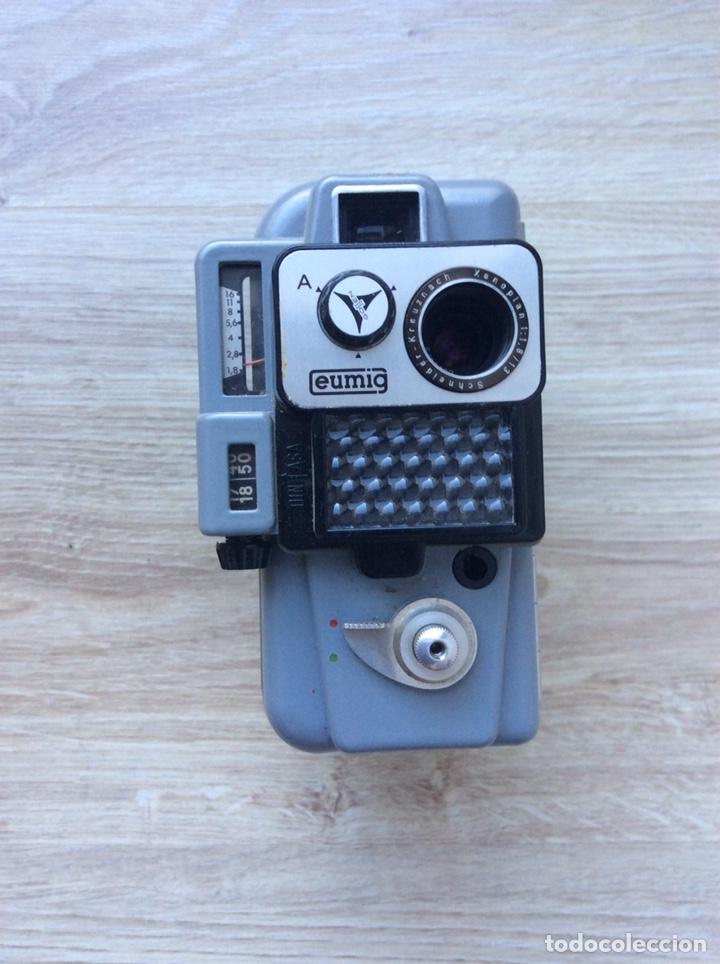 CÁMARA EUMIG SERVOMATIC [AUSTRIA, 1959-61]. DOBLE8MM, MOTOR ELÉCTRICO (PILA DE PETACA) (Antigüedades - Técnicas - Aparatos de Cine Antiguo - Cámaras de Super 8 mm Antiguas)