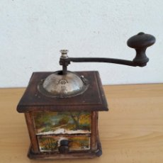 Antigüedades: ANTIGUO MOLINILLO DE CAFE PEUGEOT FRERES AÑOS 1900. Lote 148858458