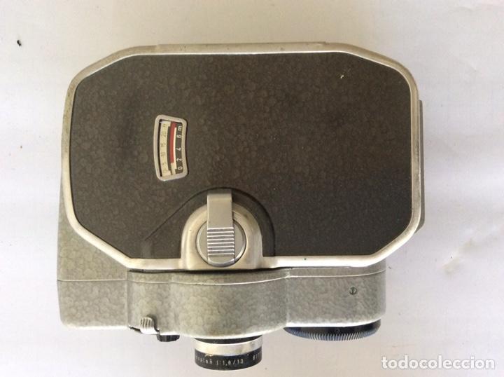Antigüedades: CÁMARA DE CINE A CUERDA 8mm BAUER 88F CON FUNDA ALEMANA BUEN ESTADO - Foto 2 - 205386666
