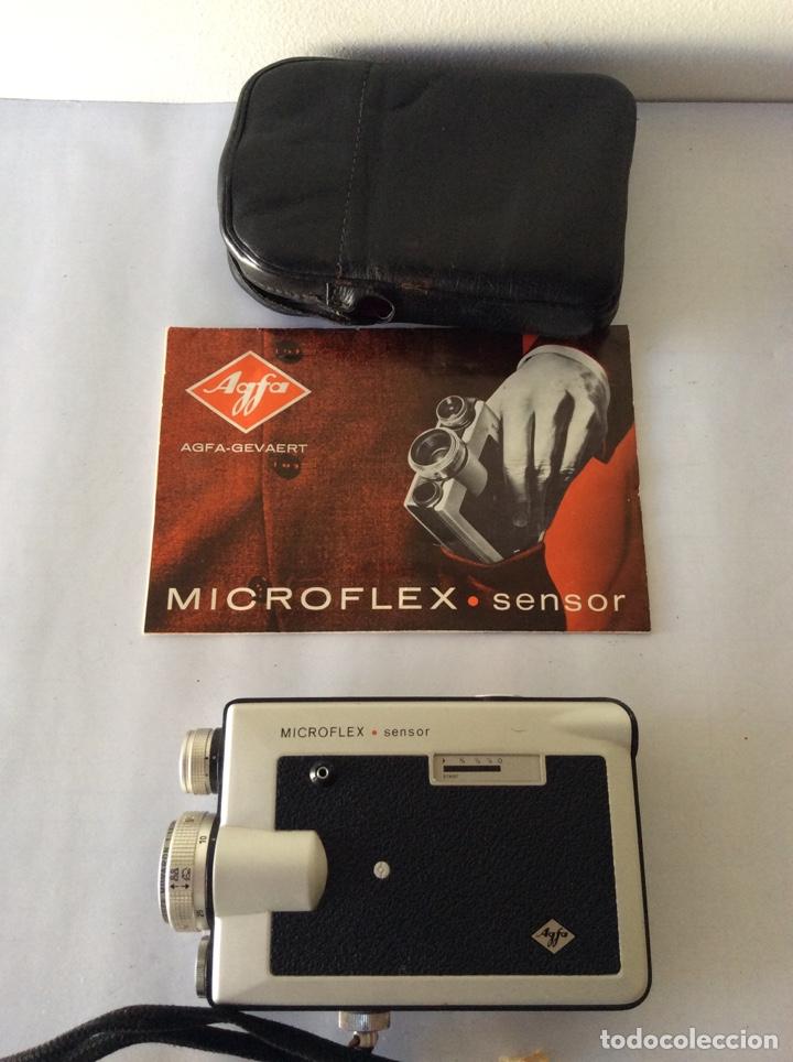 Antigüedades: AGFA MICROFLEX SENSOR CON FUNDA E INSTRUCCIONES - Foto 2 - 205390183