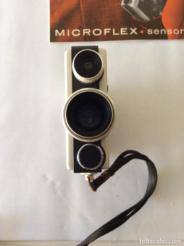 Antigüedades: AGFA MICROFLEX SENSOR CON FUNDA E INSTRUCCIONES - Foto 3 - 205390183
