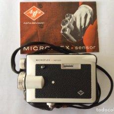 Antigüedades: AGFA MICROFLEX SENSOR CON FUNDA E INSTRUCCIONES. Lote 205390183