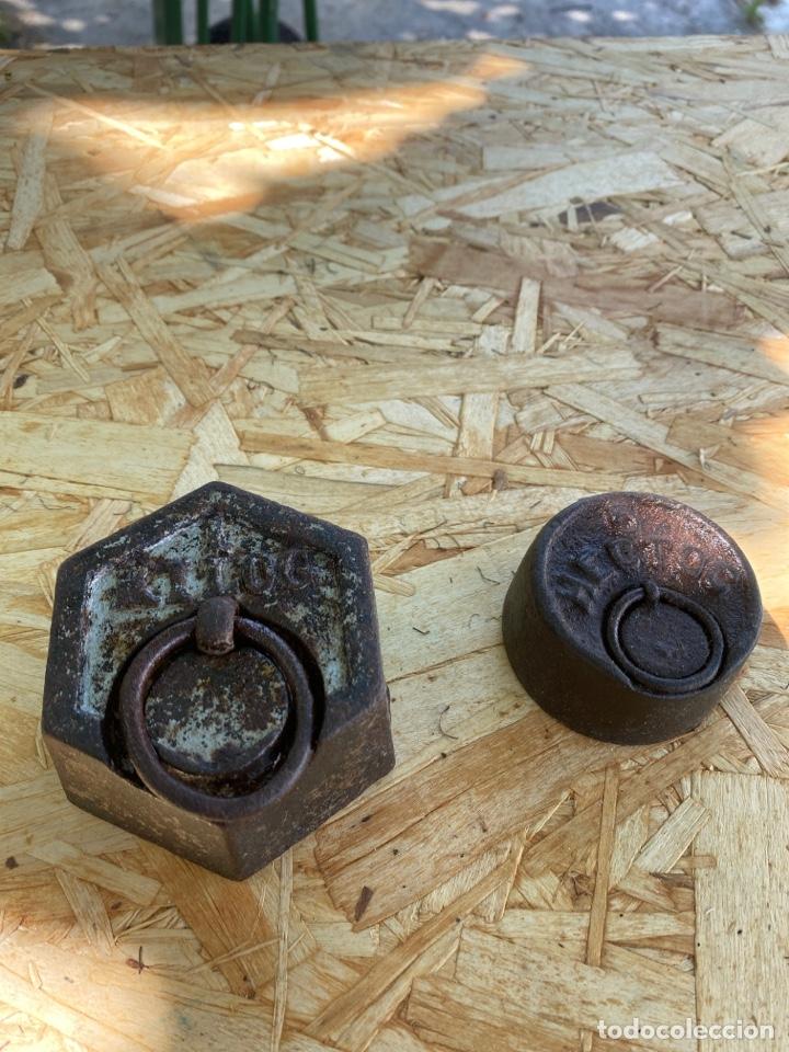 PESAS (Antigüedades - Técnicas - Medidas de Peso Antiguas - Otras)