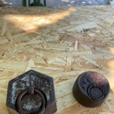 Antigüedades: PESAS. Lote 205390345