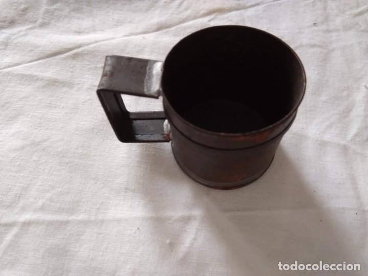 MEDIDA PARA LÍQUIDOS - MEDIO DECILITRO (Antigüedades - Técnicas - Medidas de Peso Antiguas - Otras)