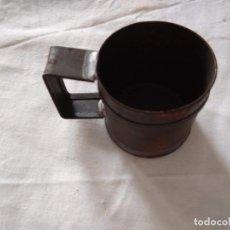 Antigüedades: MEDIDA PARA LÍQUIDOS - MEDIO DECILITRO. Lote 205390481