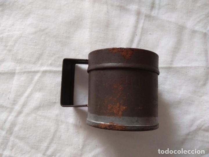 Antigüedades: MEDIDA PARA LÍQUIDOS - MEDIO DECILITRO - Foto 2 - 205390481