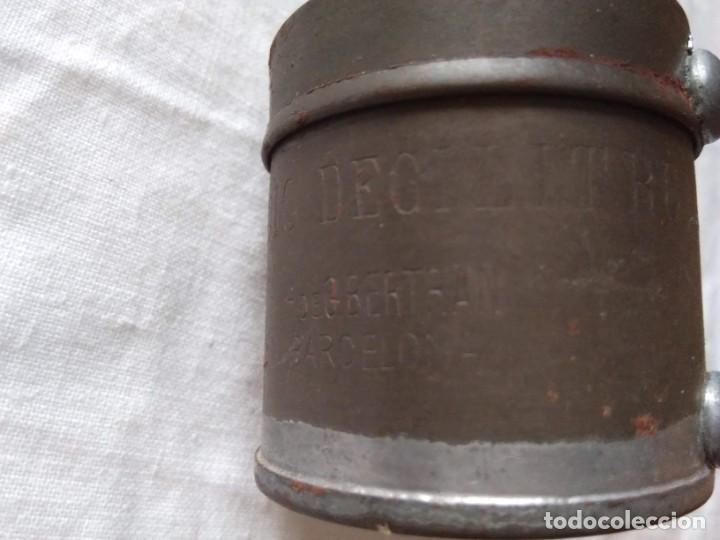 Antigüedades: MEDIDA PARA LÍQUIDOS - MEDIO DECILITRO - Foto 4 - 205390481