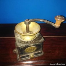 Antigüedades: ANTIGUO MOLINILLO DE CAFÉ MANUAL,W. BULLOCH & CO IMPROVED COFFEE MILL, SIGLO XIX. Lote 205394103