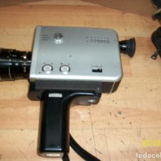 Antigüedades: CAMARA DE VIDEO-TOMAVISTA-NIZO S8T- SUPER 8 MM- AÑOS 1960-CON FUNDA. Lote 205443141