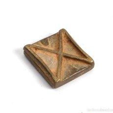 Antigüedades: PESA ASHANTI PARA PESAR POLVO DE ORO. GHANA. SIGLO XIX. Lote 205463495