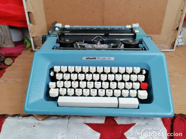 MAQUINA DE ESCRIBIR OLIVETTI ESTUDIO 46 (Antigüedades - Técnicas - Máquinas de Escribir Antiguas - Olivetti)