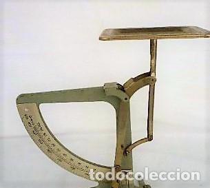 BALANZA PESA CARTAS MARCA EL GRAMM, POSTAL, CORREOS, PESO, DOBLE ESCALA (Antigüedades - Técnicas - Medidas de Peso - Balanzas Antiguas)