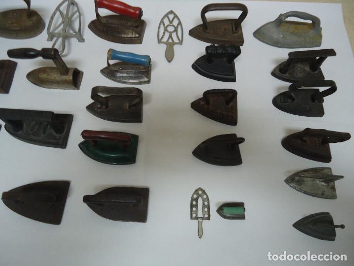 Antigüedades: COLECCION DE 23 PLANCHAS PEQUEÑAS AUTENTICAS ORIGINALES . ALGUNA MUY RARA. - Foto 7 - 205613106