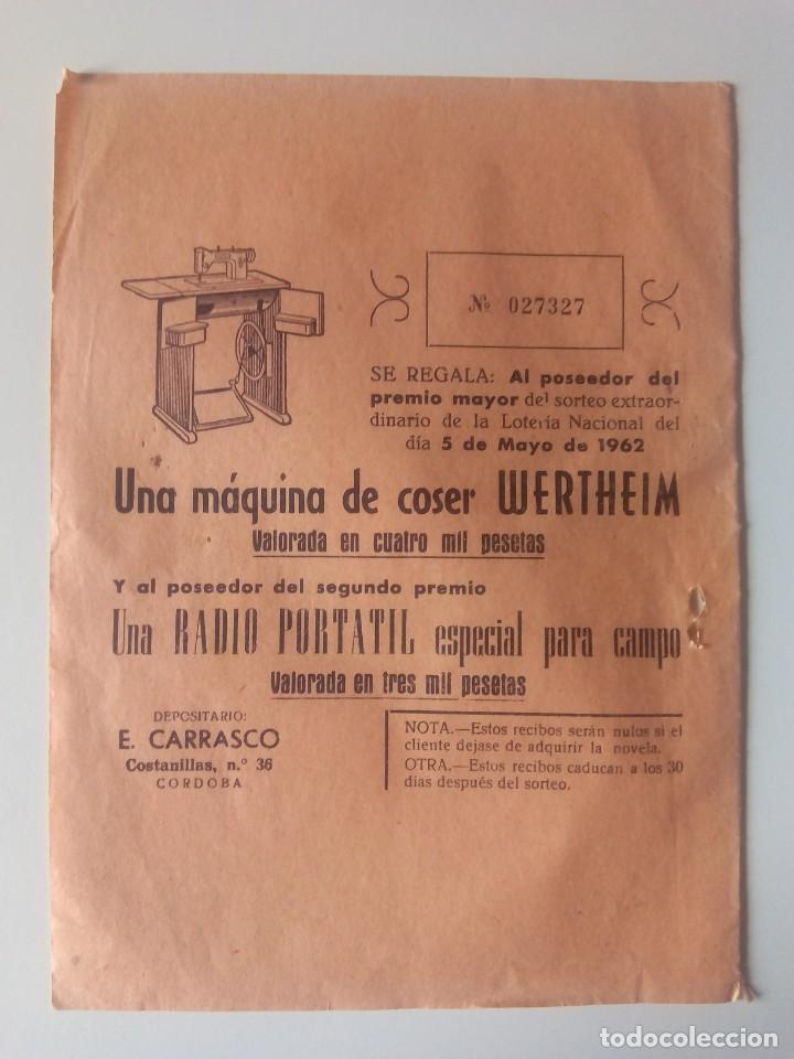 Antigüedades: Participación sorteo de 1962, de Máquina de coser Wertheim - Foto 2 - 205665598