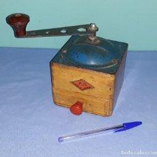 Antigüedades: ANTIGUO Y DIFICIL MOLINILLO DE CAFE FRANCES MARCA F.P. AÑOS 50/60. Lote 205671648