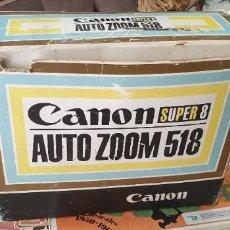 Antigüedades: CAMARA CANON SUPER 8 AUTO ZOOM 518 CAJA ORIGINAL. Lote 205683816
