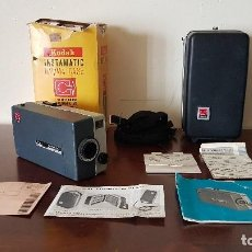 Antigüedades: TOMAVISTAS KODAK INSTAMATIC M2/M4 CASE, MADE IN USA, NO. D132C, MUCHAS FOTOS, TAL CUAL SE VE.. Lote 205683893