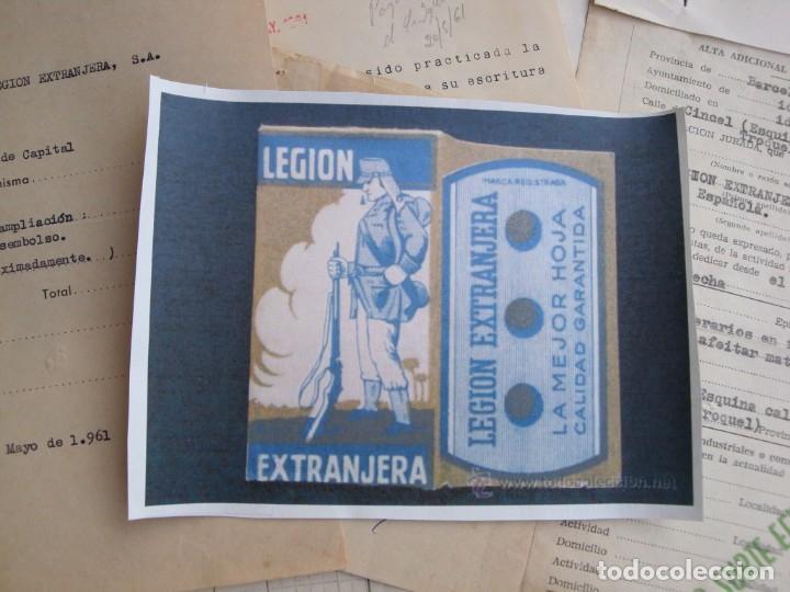 LEGION EXTRANJERA (Antigüedades - Técnicas - Barbería - Hojas de Afeitar Antiguas)