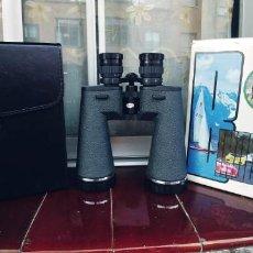 Antigüedades: PRISMÁTICOS ZEUS JAPAN 10X 30X60 EN PERFECTO ESTADO,CON SU CAJA,MALETIN Y COLGANTES,. Lote 205724575