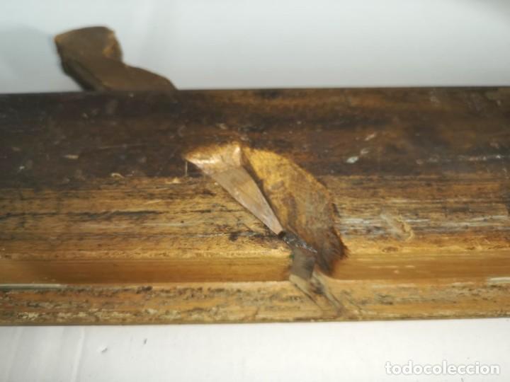 Antigüedades: ANTIGUO CEPILLO DE CARPINTERO - Foto 5 - 205739531