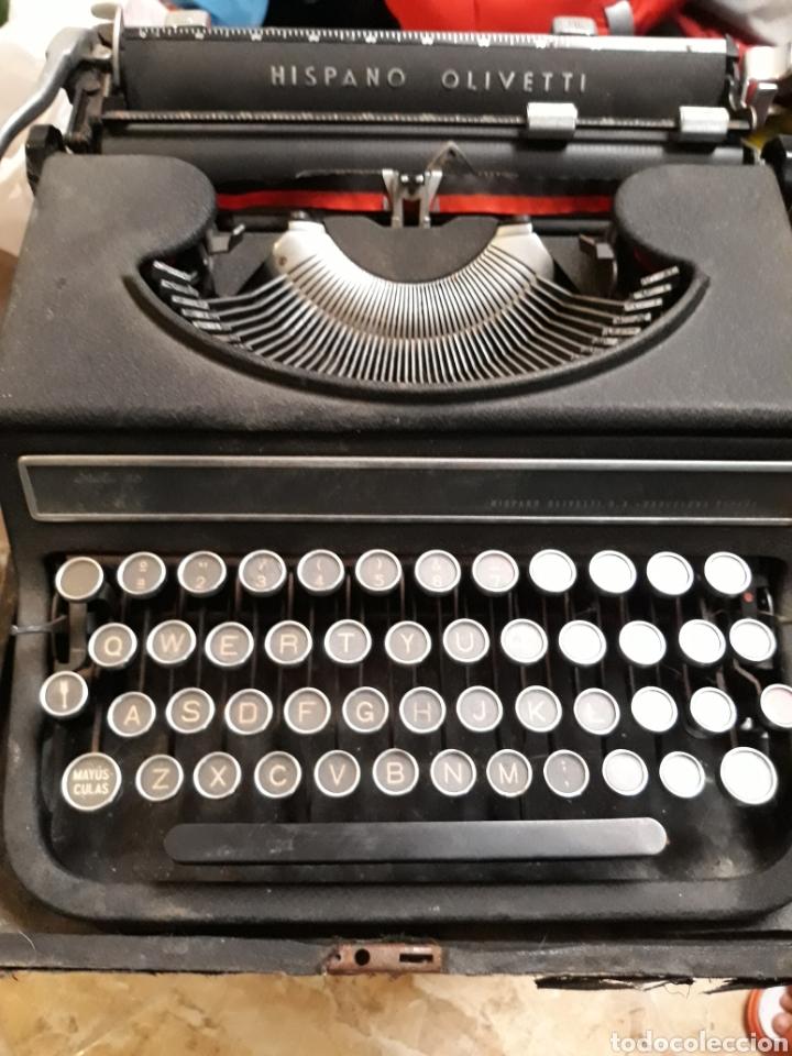 MAQUINA DE ESCRIBIR HISPANO OLIVETTI ESTUDIO 46 (Antigüedades - Técnicas - Máquinas de Escribir Antiguas - Olivetti)