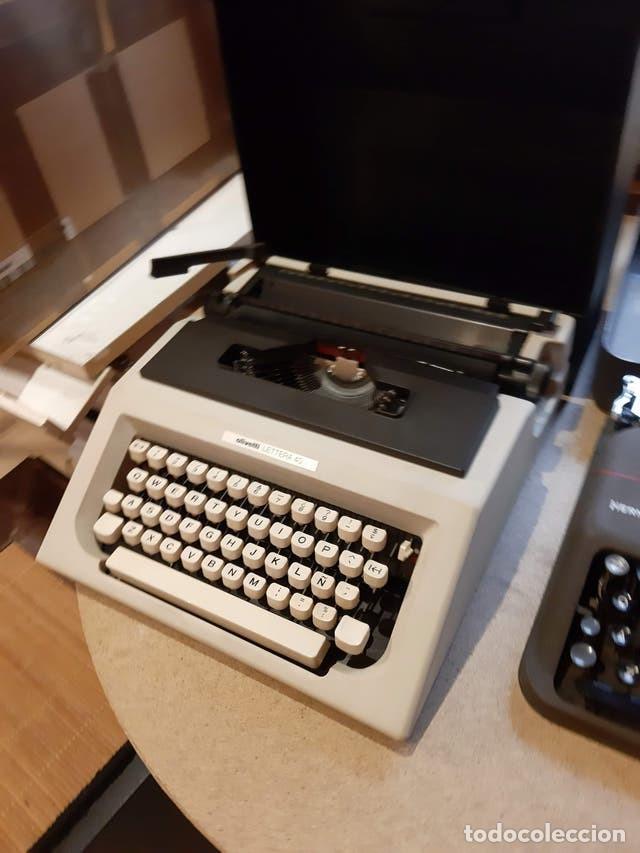 MAQUINA DE ESCRIBIR PORTATIL, OLIVETTI (Antigüedades - Técnicas - Máquinas de Escribir Antiguas - Otras)