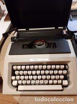 Antigüedades: Maquina de escribir portatil, Olivetti - Foto 2 - 205777400