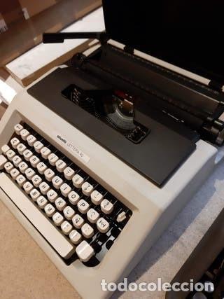 Antigüedades: Maquina de escribir portatil, Olivetti - Foto 3 - 205777400