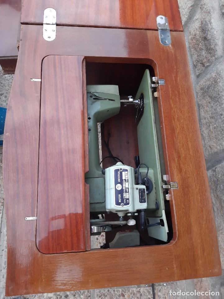 Antigüedades: Máquina de coser alfa 104 - Foto 5 - 205780351