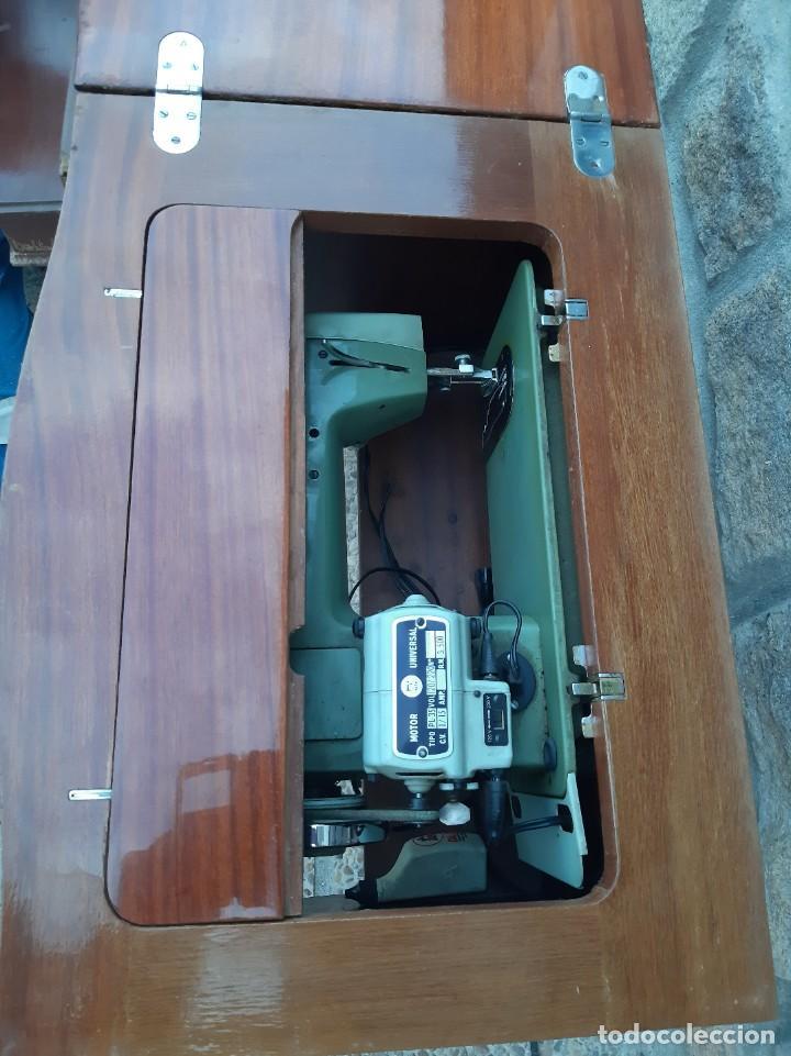 Antigüedades: Máquina de coser alfa 104 - Foto 9 - 205780351