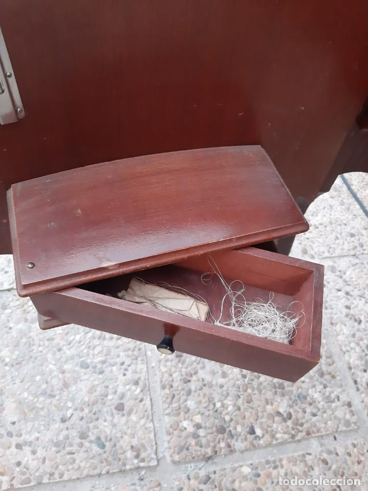 Antigüedades: Máquina de coser alfa 104 - Foto 18 - 205780351