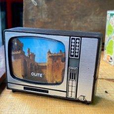 Antigüedades: SOUVENIR TELEVISION DIAPOSITIVAS. Lote 205781125