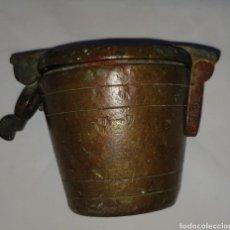 Antigüedades: ANTIGUO PONDERAL SXVII-XVIII. Lote 205784678