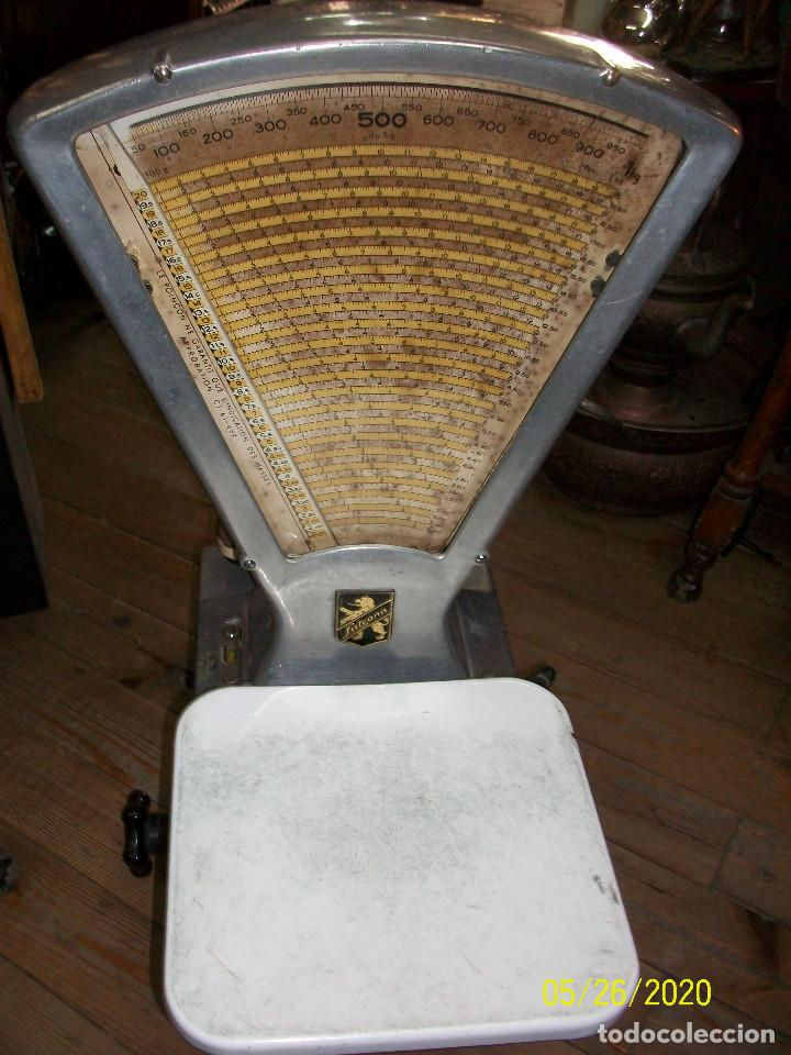 Antigüedades: BASCULA DE COMERCIO LUTRANA-MODELO R75- AÑOS 1960 - Foto 5 - 205804728