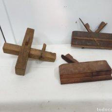 Antigüedades: CEPILLOS DE CARPINTERO. Lote 205829476