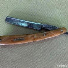 Antiquités: ANTIGUA NAVAJA DE AFEITAR DE LA MARCA RIONA.. Lote 205864450