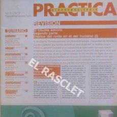 Antigüedades: ANTIGÜA REVISTA PRACTICA OTONEUMOALERGIA - Nº 5 - AÑO 2000. Lote 206151287